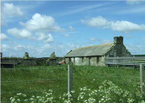 Deserted farmstead