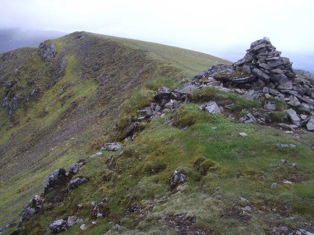 Twin summits of Beinn Eibhinn
