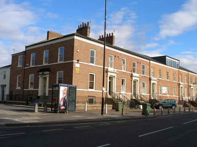 Georgian terrace, Norton Road