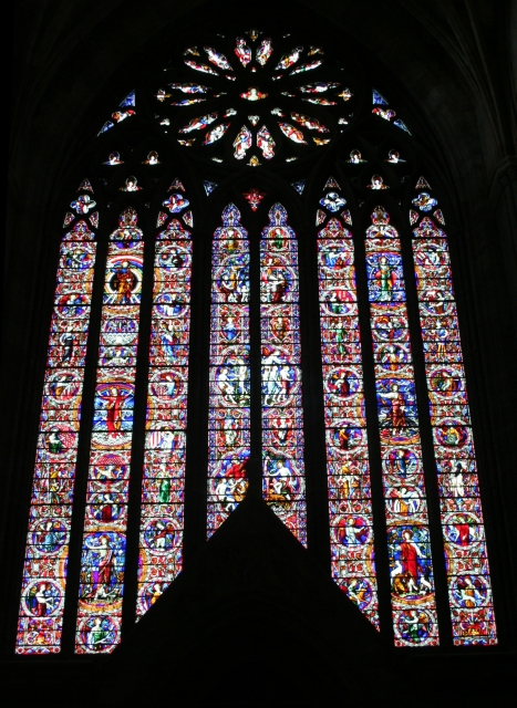 The West Window, Worcester Cathedral