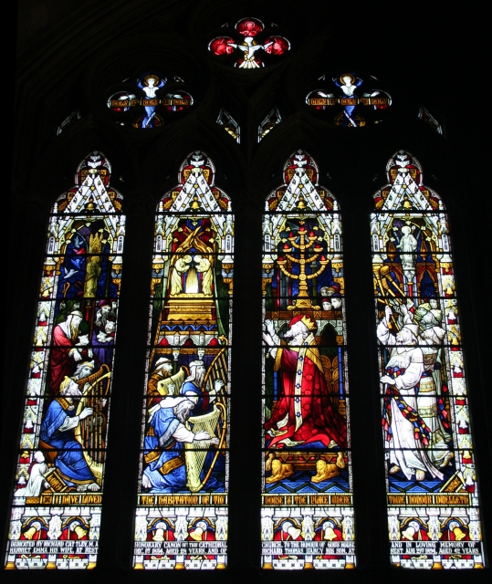 Cattley Window, Worcester Cathedral