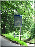 SO2500 : Sign by road down to Abergelli Cottages by Jessica Aidley