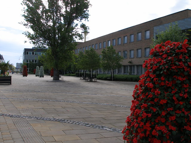 Stockton Council Offices on Church Road