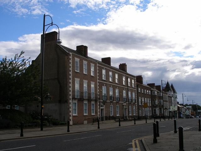 Grade 2 Georgian Terrace, Church Road