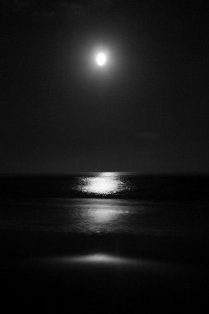 Lunan Bay by Moonlight