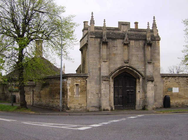 Hospital gatehouse