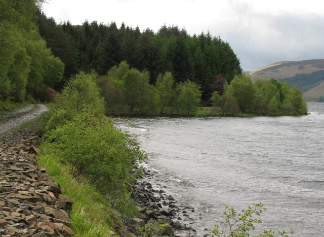 East end of St Mary's Loch