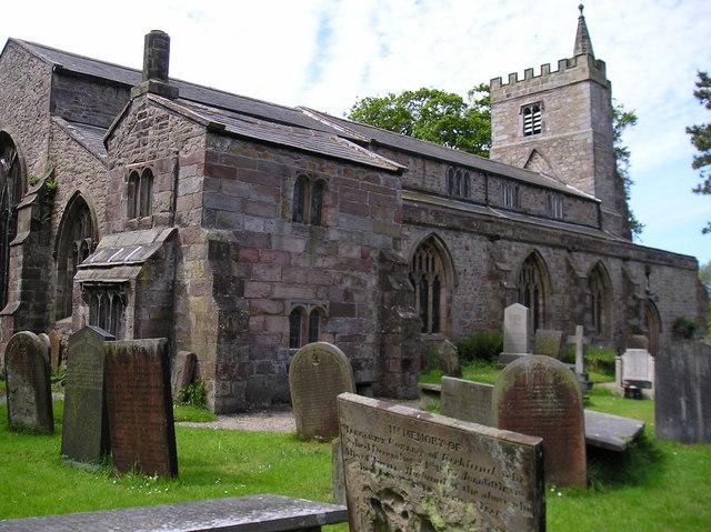 The Church of St. Helen, Churchtown, near Garstang