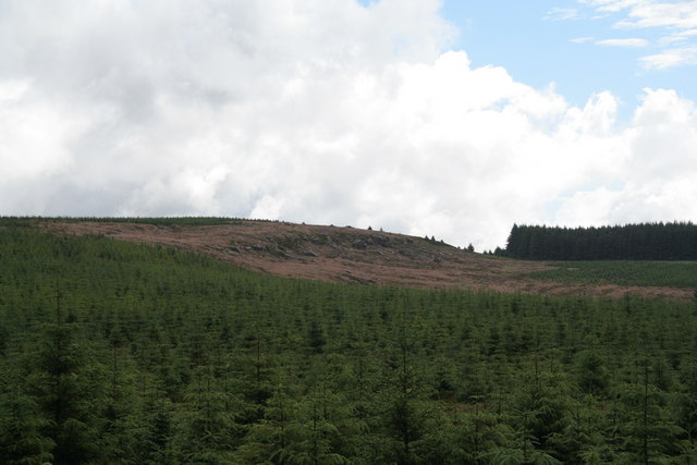 Crag near Earl's Seat