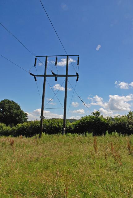 Pylon on Hart Hill
