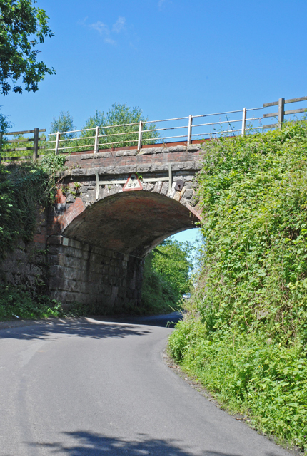 Railway bridge at Semley