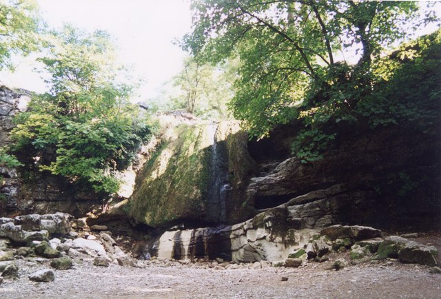 Janets Foss with no water