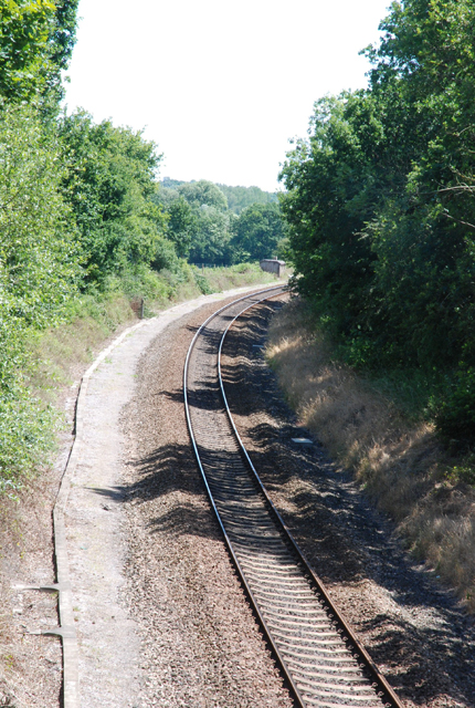 Railway towards Tisbury