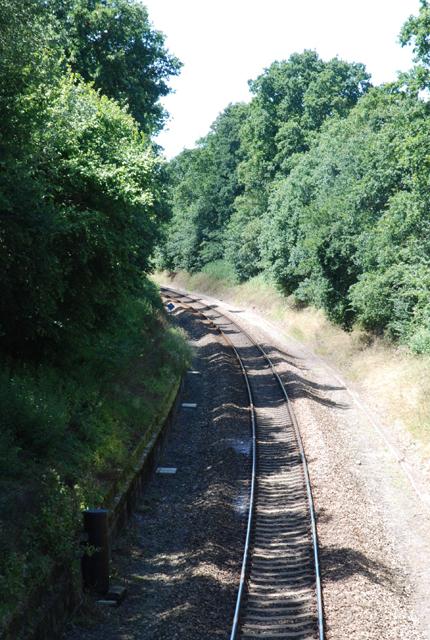 Railway towards Gillingham