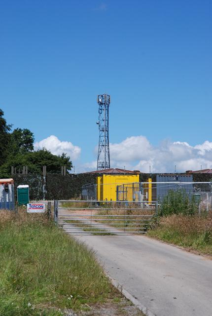 Radio Mast north of Shaftesbury