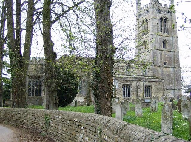 All Saints' Church, Easton-on-the-Hill