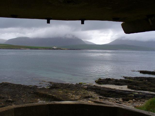Overlooking Hoy Sound