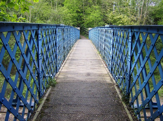 Geeston to Ketton railway footbridge