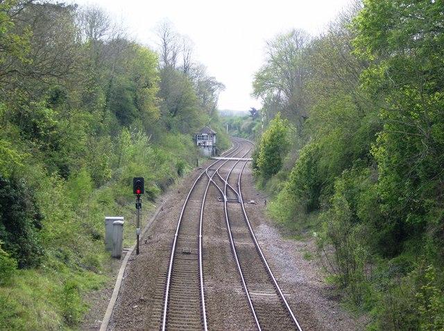 Stamford to Oakham railway