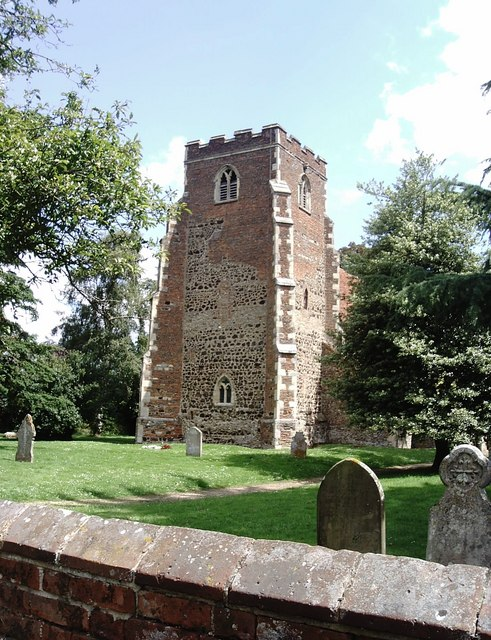 The tower of St Peter, Boxted