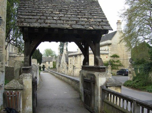Ketton lych gate