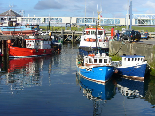 Boats in Stromness Harbour