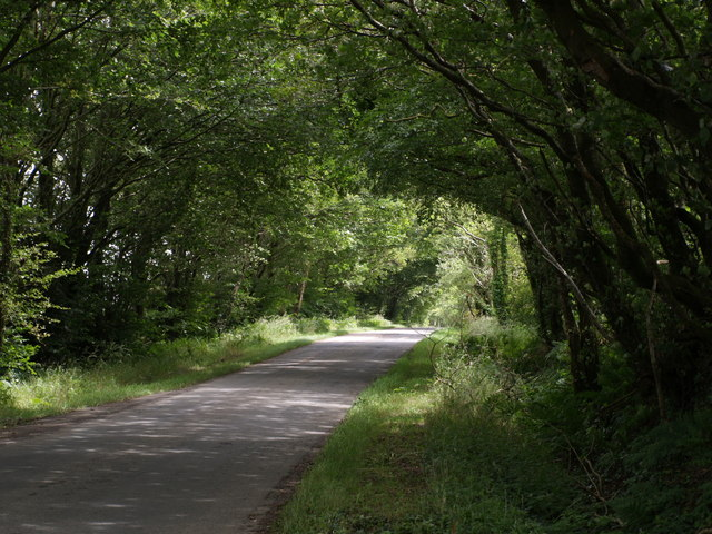 Road across Broadbury