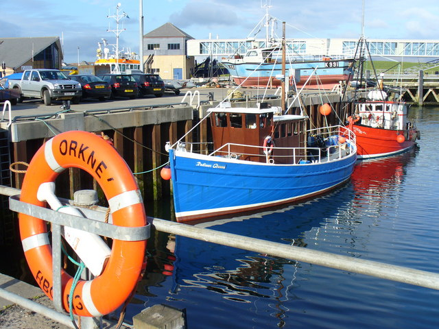 Fishing Boats in Stromness Harbour