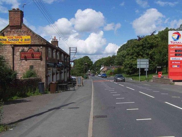 Powys Arms, Wetley Rocks