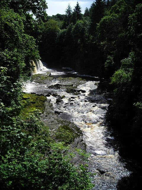 River Clyde Below Bonnington Linn