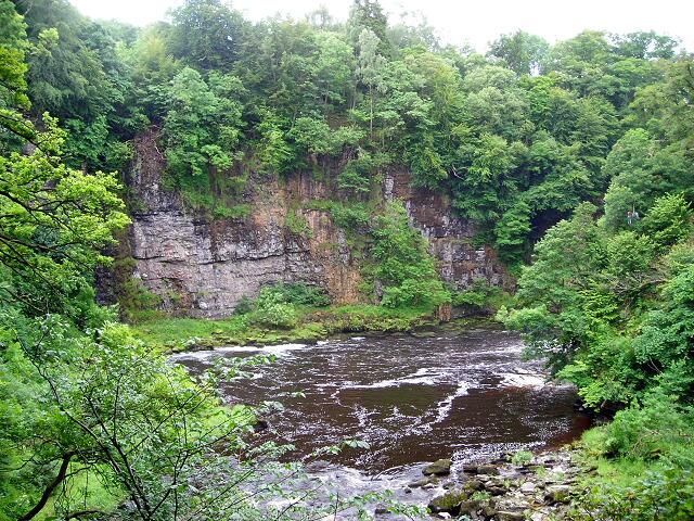 Cliffs at Corra Linn