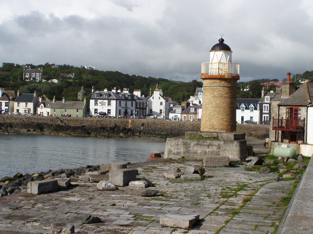 Portpatrick lighthouse