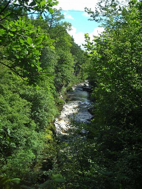 River Clyde Above Corra Linn