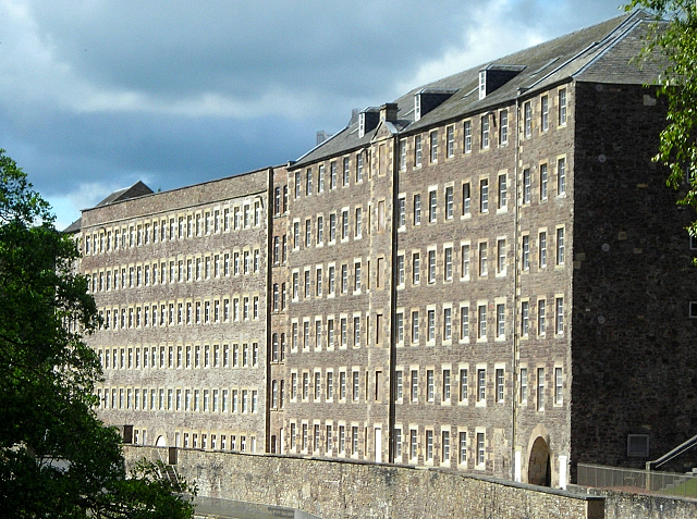 Mill Buildings at New Lanark