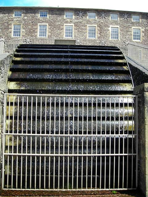 Water Wheel at New Lanark