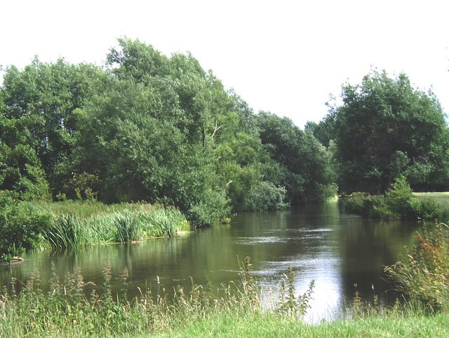 River Stour between Dedham and Flatford Mill