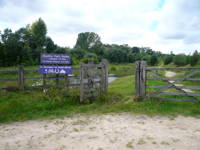 Poulter Country Park - Entrance from Car Park