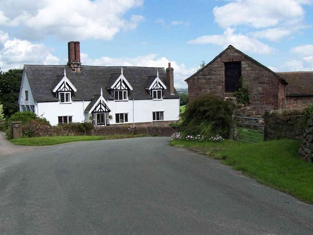 Lower Farm, Consall