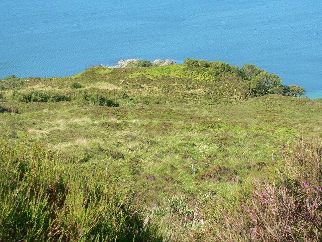 Headland on Loch Hourn