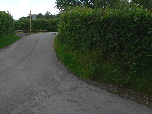 Crai To Trecastle Road