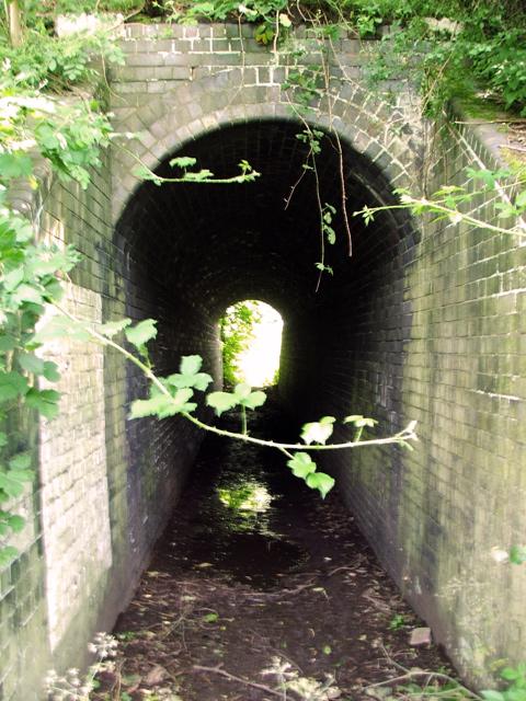 Footpath tunnel