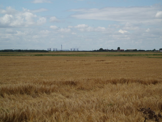 Fields towards Rainsbutt Farm