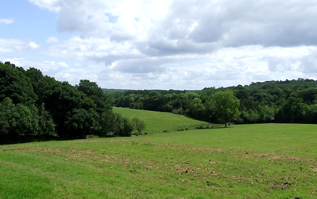 Farmland and Forest, near Spoonhill, Shropshire