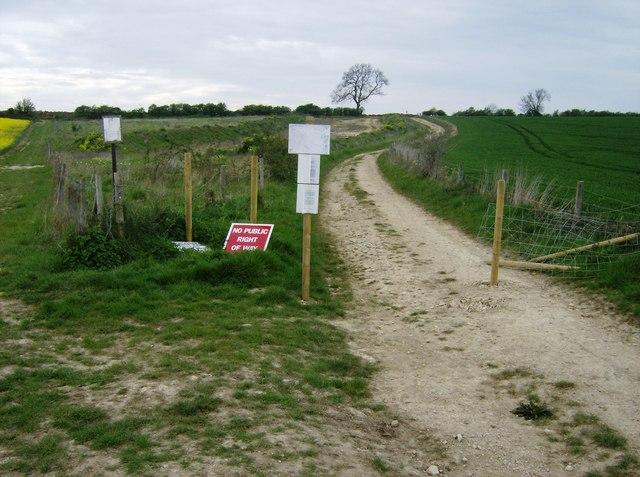 Footpath diversion