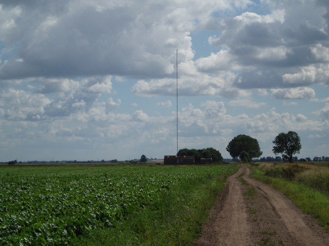 Field north of the anemometer mast on Ousefleet Moor