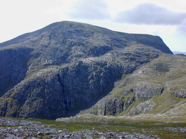 Beinn Dearg from the approach to Cona' Mheall