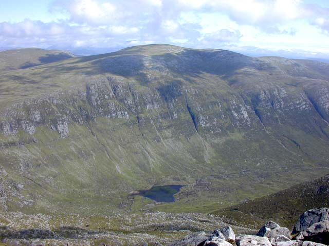 View south east from the summit of Cona' Mheall