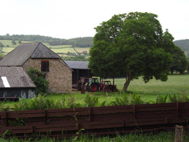 Barn and Tractors Estavarney