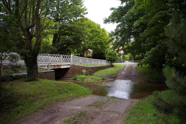 Hildersham Ford and Bridge, River Granta