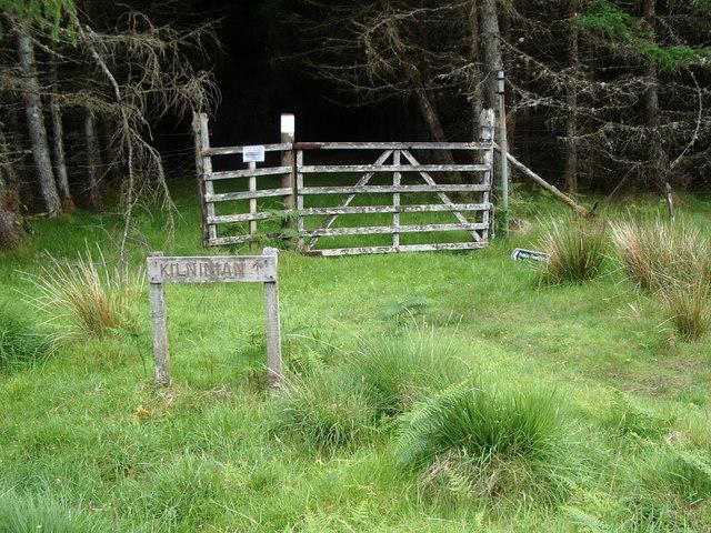 Track to Kilninian from Mornish